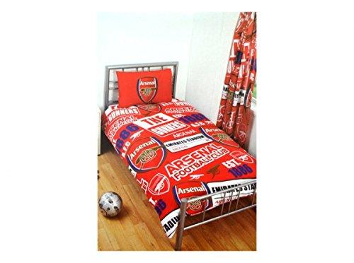 Arsenal Single Bettwäsche-Set-Mehrfarbig (Fc-patch Arsenal)