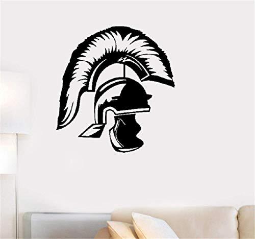 Wandtattoo Schlafzimmer Helm Römischer Krieger Antikes römisches Reich