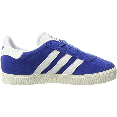 adidas Originals Gazelle C Blue Suede Junior Trainers Blue