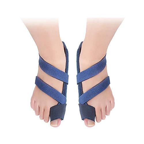 Sky God Big Toe Bunion Corrector,Corrector de Juanetes Hallux Valgus Pro Ortopedia Braces Care Splint Toe Enderezadora Pedicura Herramienta Protector de Dedos, Azul