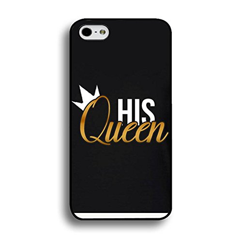 Couples Case for Iphone 7 Plus Lovely Stylish King Queen Phone Cases Fashion Hard PC Cover for Iphone 7 Plus Shell Color232d
