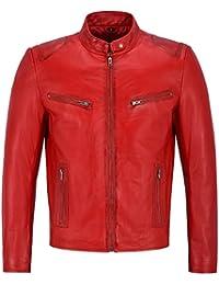 check out 7c1f0 50769 Amazon.it: In Pelle Biker - 4121325031: Abbigliamento