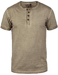 SOLID Tihn Herren T-Shirt Granddad Shirt