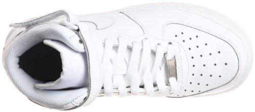 Nike Air Force 1 (Gs) 314195 Scarpe Sportive da Bambini E Ragazzi Bianco