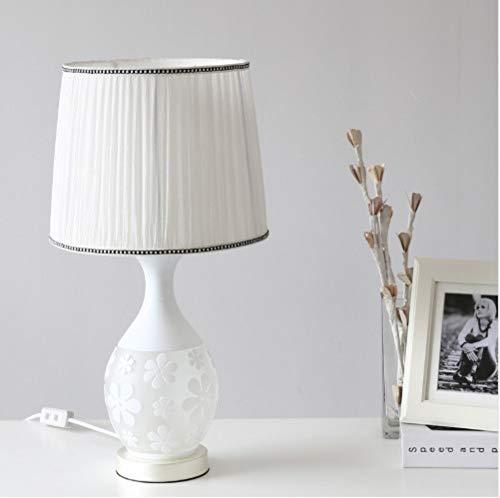 LIUJINHAI Lámpara de Dormitorio lámpara de Mesa lámpara de Cristal ...
