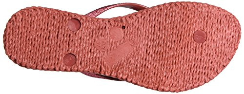 Tongs Femme Glitter Ilse Jacobsen, Cheerful01, Infradito Donna Pink (rouge)