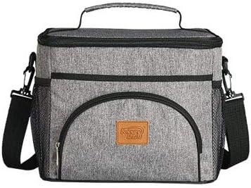 XCXDX Portable ispessimento termico isolamento borsa borsa borsa borsa grande capacità borsa da picnic esterna impermeabile Oxford panno borsa del ghiaccio canapa grigio   Di Alta Qualità Ed Economico    The Queen Of Quality  4128c7