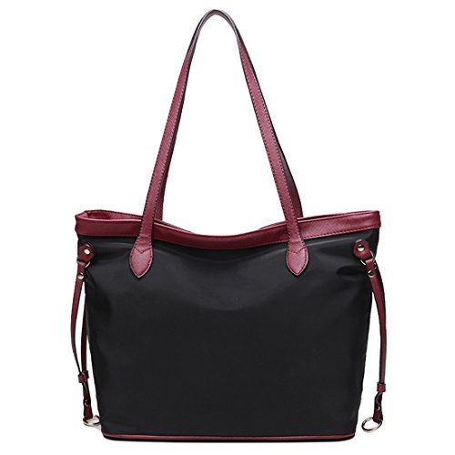 YYW Work Tote Bag, Borsa a zainetto donna Purple