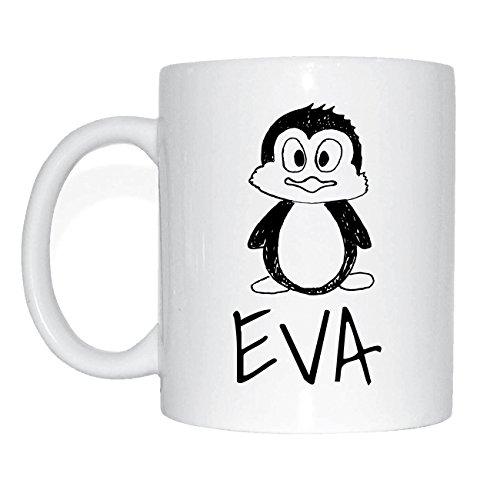 JOllipets EVA Namen Geschenk Kaffeetasse Tasse Becher Mug PM5335