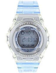 Casio BG13022ER - Reloj de cuarzo para mujeres, color azul claro