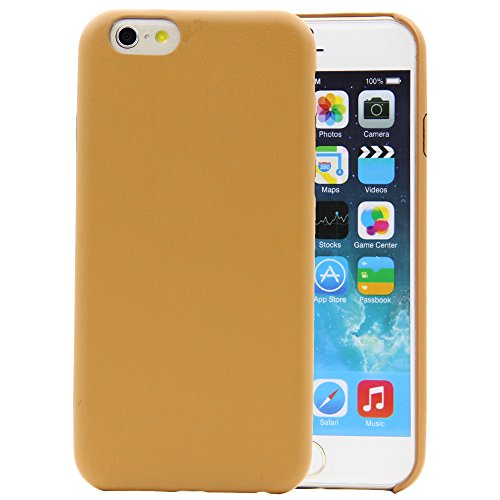 BELK iPhone 6 11,9 cm Case/Cover (10 Farben) [Hohe Qualität] [Ultra Thin & Light] [Serial] [Perfekte Passform] [Präzise Fashion]-100% Perfection aus aller coners und tears-made von Schadstoff frei Umw braun