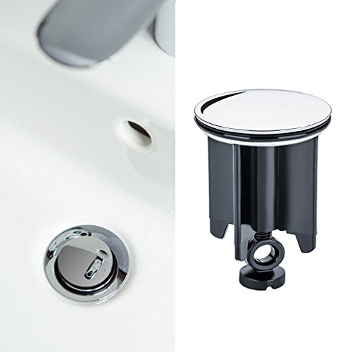 Universal Waschbeckenstöpsel 40 mm, Dioxide Abflussstopfen für alle Handelsüblichen Waschbecken und Bidets, Beliebtester Hochwertiger Stöpsel