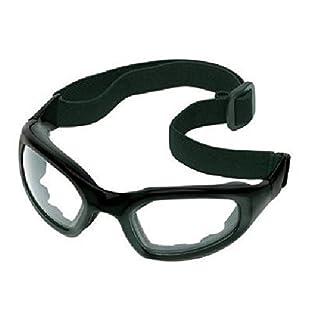 AO Safety 247-40686-00000-10 Maxim 2 X 2 Black Frameclear Lens