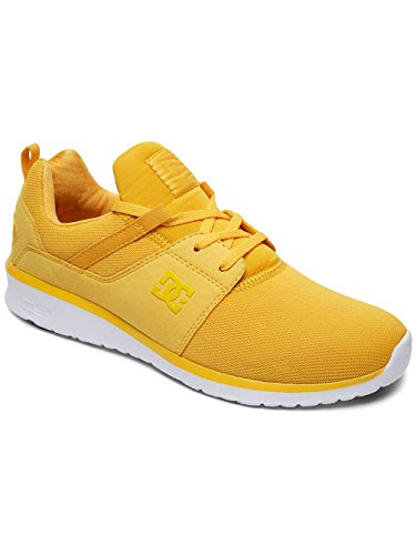 DC Shoes Heathrow M Shoe, Sneakers Basses Hommes Jaune - Yellow/Gold