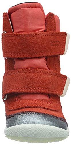 Ecco Biom Lite Infan, Chaussures Marche Bébé Fille Rouge (BUFFED SILVER/CORAL BLUSH59645)