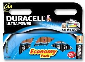 DURACELL - 5000394004030 - Batterie, AA ALKALINE ULTRA 12PK 12 Pack Aa Alkaline-batterien