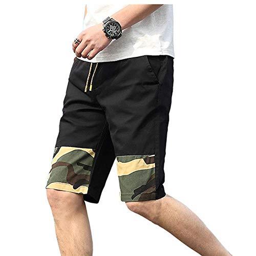 YURACEER Sommer Hosen Herren Kurze Hosen Shorts Männer Kühlen Tarnung Sommer Heißer Baumwolle Casual Männer Kurze Hosen Plus Größe Kurz für männlichen Schnell trocknend Schweiß x1