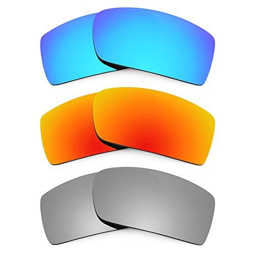Revant Ersatzlinsen für Oakley Gascan Polarisiert 3 Paar Kombipack K014