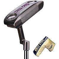 PGM Palos de Golf Profesionales, 304 putters de Golf de Mano Derecha de Hierro Suave con Cubierta de Cabeza de Putter,Black