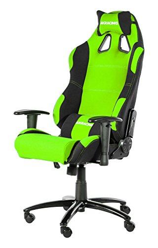 AK Racing K7018-BG Gaming Stuhl, Stoff, grün/schwarz,...