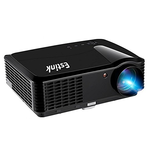 LED Video Projector 1280x800 HD WiFi Home Theater Mini Cinema USB AV SD HDMI Game Projectors Support 1080P