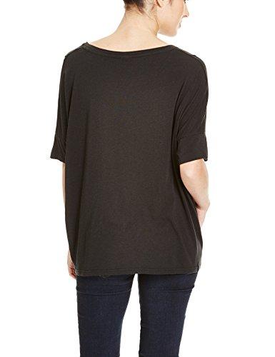 Bench Putonice, T-Shirt Donna Schwarz (Black BK014)