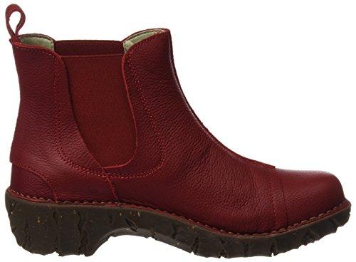 El Naturalista N158 Soft Grain Yggdrasil, Chelsea Boots Women Red (tibet)