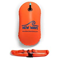 New Wave Swim Bubble for Open Water Swimmers and Triathletes (Orange)