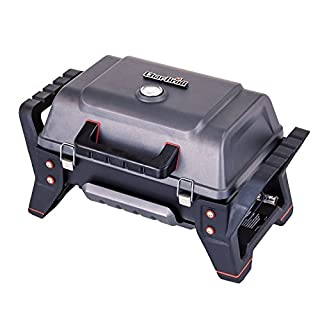 Char-Broil X200 Grill2Go - Portable Barbecue Grill with TRU-InfraredTM technology, Grey| Cast aluminium.