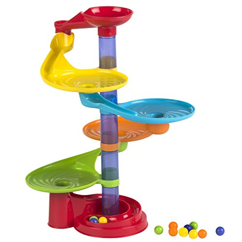 Playgo - Torre espiral de bolas, 6 pisos (ColorBaby 44280)