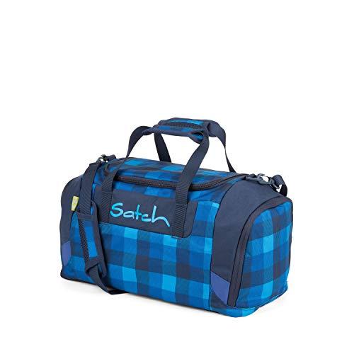 SATCH Skytwist Sporttasche, 50 cm, Karo Blau