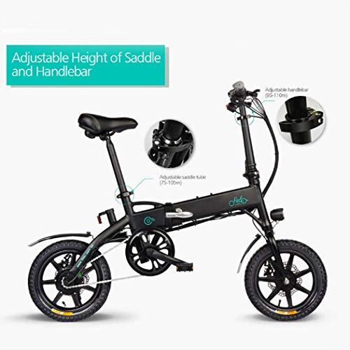VOMOME 14 Zoll Mountainbike E-Faltrad, Elektrofahrrad Klapprad Mini E-Bike mit 36V 7.8/10.4Ah Lithium-Ionen Batterien, Höchstgeschwindigkeit 25km/h