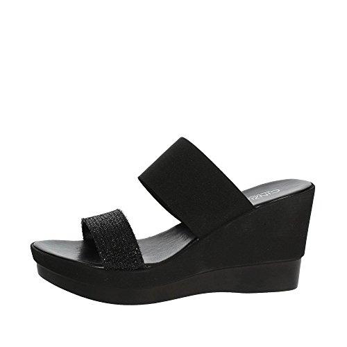 Cinzia Soft IBC18 001 Mules Femme Noir