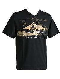 Signum, kurzarm Shirt T-Shirt, 392300, schwarz [10458]