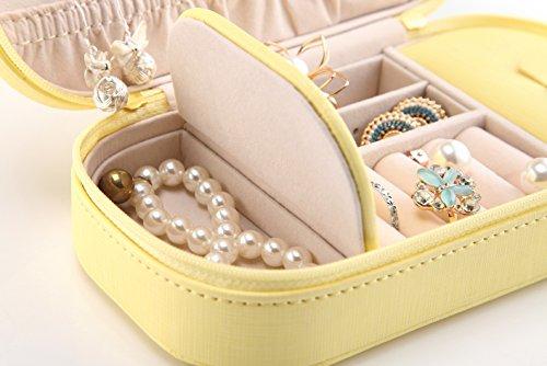 vlando-Pequeo-Piel-Sinttica-Joyero-de-viaje-porttil-Organizador-de-joyas-caja-de-almacenaje-para-anillos-de-collar-con-espejo