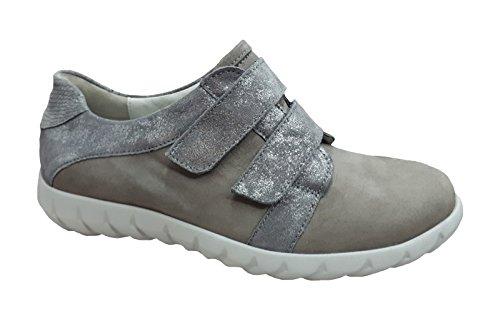 Waldläufer Sneaker da Donna Khaleesi 652301-301-088 Grigio grau