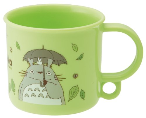 My Neighbor Totoro Design Dishwasher Safe BPA Free Plastic Cup (Volume: 200ml)