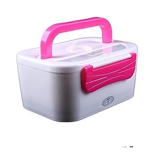 Elektrische Lunch-Box von Possbay, tragbarer, elektrischer Speisewärmer fürs Auto. rose