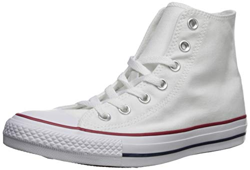 Converse Chuck Taylor All Star Hi, Sneaker Unisex – Adulto, Bianco (optical white), 50 EU