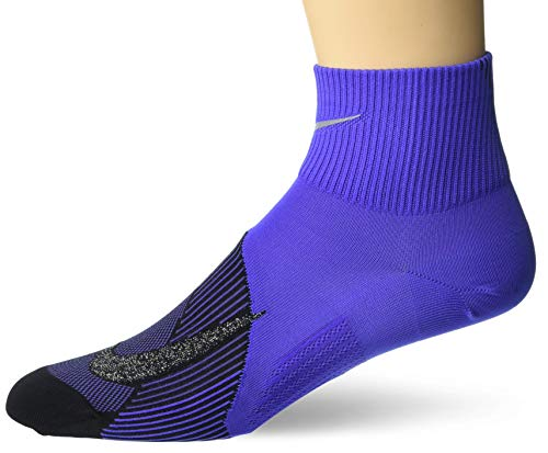 Nike U NK Spark LTWT Crew Socks White//Wolf Grey//Black 8-9.5 Unisex Adulto