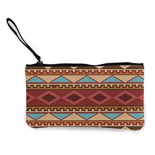 Architd Make-up-Tasche mit Reißverschluss, für Damen, Mädchen, Navajo, Indianer-Muster, personalisierbar