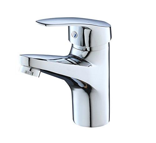 Eridanus, Bad Wasserhahn Armaturen, Waschtischarmatur mit Anschlußschläuche, Verchromt