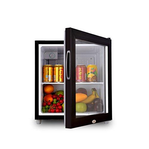 SL&BX Refrigerador Puerta de Cristal,Hogar refrigerador Alimentos Muestra la...