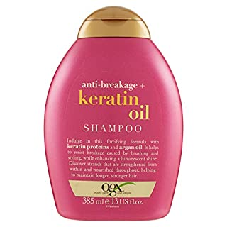 OGX Anti-Breakage Keratin Oil Shampoo, 1er Pack (1 x 385 ml)