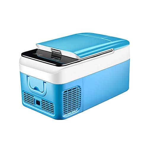 LRHYG Kühlbox Tragbarer Kompressor Kühlschrank Mit Gefrierfach  Mini Kühlschrank Gefrierschrank Für Reisen/LKW/Schlafsaal/Zuhause (Size : 18L-A) (Reise-kühlschrank Mit Gefrierfach)