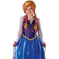 Jakks Pacific UK Ltd Anna Frozen Disney Parrucca per costume di (Autentica Degli Accessori Del Costume Disney)