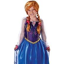 Disney Frozen - Peluca de Anna para niña