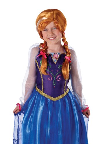 Disney Perücken Frozen (Disney Die Eiskönigin - Anna's)