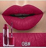 #10: MISS ROSE Matte Long Lasting and Waterproof Liquid Lipgloss Mirror Shade 08