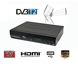 Decodeur Live Satellite Boitier Tnt8115 - DVB-T2 / HD / Plus / MPEG-4 / H.264 / Haute Qualité